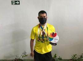 Aluno da UniCesumar conquista três medalhas na Paralimpíada Universitária