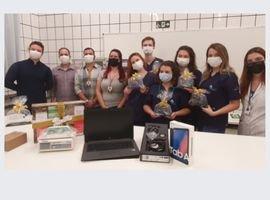 Egressos da Medicina Veterinária da  UniCesumar ganham prêmio internacional