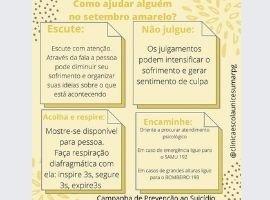 UniCesumar Ponta Grossa fará plantões no Setembro Amarelo